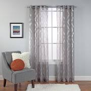 Walmart Sheer Curtain Panels Sheer Curtains Walmart
