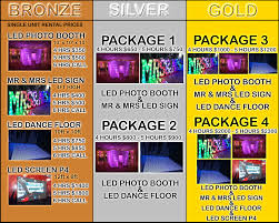 photo booth prices led photo booth rentals new york