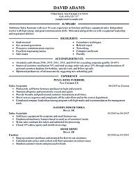 Sales Associate Job Description Resume by Professional Description For Resume Free Resume Example And