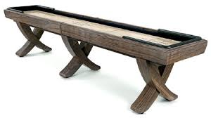 9 Foot Shuffleboard Table by Fodor Billiards And Barstools Page1 American Made Shuffleboard