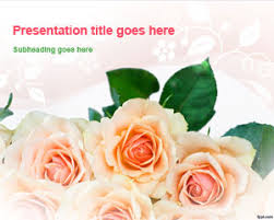 free flowers powerpoint templates