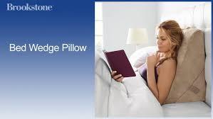 broyhill adjustable wedge gel memory foam pillow walmart com bedding scenic broyhill adjustable gel memory foam wedge bed pillow