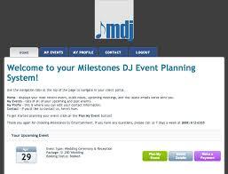 wedding planner software our philosophy milestones wedding dj grass valley auburn