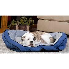 k u0026h bolster couch pet bed dog cuddler beds petsmart
