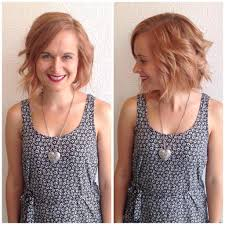 hairstyles bob with bangs medium length women u0027s wavy strawberry blonde bob with side swept bangs medium