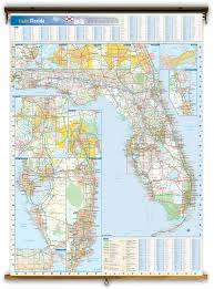 Fl State Map by Florida State Reference Wall Map From Geonova
