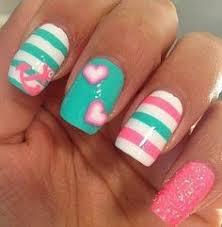 50 blue nail art designs anchor painting white nail art and