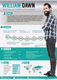Illustrator Resume Templates 12 Best Free Infographic Resume Templates Images On Pinterest