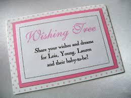 birthday wish tree wishing tree baby shower sign custom baby shower sign at w flickr
