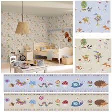 woodland animals wallpaper u0026 borders bedroom u0026 nursery u2013 sand