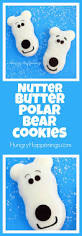 nutter butter polar bear cookies hungry happenings
