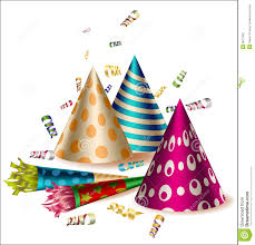 party items vector party items stock vector illustration of party 6611833