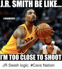Jr Smith Meme - j r smith be like nbamemes im too close to shoot 16718598 png