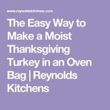 moist roast turkey in a bag recipe recipetips turkey