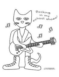 guitar coloring pages to print top 20 free printable pete the cat coloring pages online cat