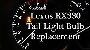 lexus rx330 us news lexus rx330 tail light bulb replacement fix