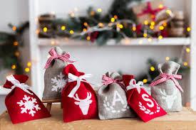 christmas goody bags burlap christmas bags christmas gift bag christmas favor
