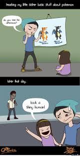 Pokemon Meme Funny - shiny human pok礬mon and comic