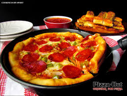 round table pizza pan vs original crust pizza hut original pan pizza copycat recipe cooking is my sport