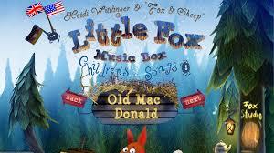 fox box songs sing along