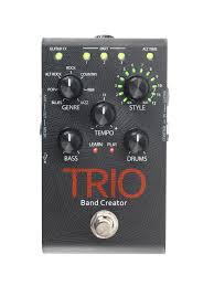 trio digitech guitar effects