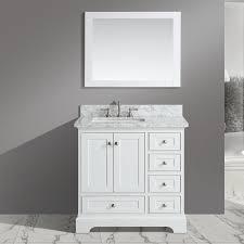 Urban Furnishings Jocelyn  Bathroom Sink Vanity Set With Mirror - Bathroom sink mirror