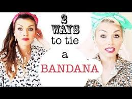 how to wear a bandana with short hair 14 tutorials for bandana hairstyles pretty designs