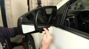 installation of the k source custom snap on towing mirrors on a