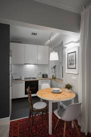 Bachelors Kitchen Small Bachelor Pad Idea Designed In A Modern Retro Style