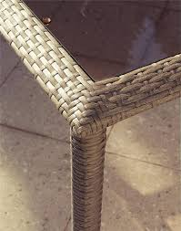 Woven Wicker Patio Furniture - amazon com cosco outdoor 7 piece lakewood ranch steel woven