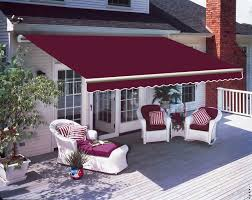 House Awnings Ireland 3 X 2 5m Patio Manual Awning Garden Canopy Sun Shade Retractable