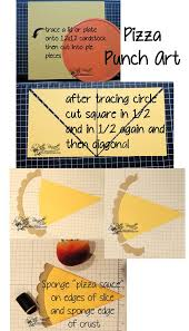 How To Make Punch Cards - i u0027m making pizza stampin up punch art style patty u0027s stamping