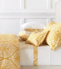 yellow u0026 white damask sheets u0026 bedding de medici adelle j brulee