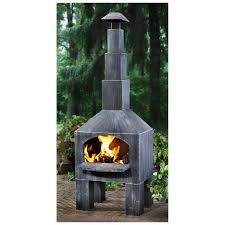 Chiminea With Pizza Oven Furniture Interesting Chiminea For Outdoor Fireplace Ideas