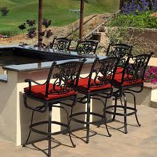 Bar Height Patio Chairs by Patio Furniture Impressive Vento Outdoor Bar And Stools Alfresco