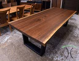 live edge table chicago live edge dining tables and custom hardwood table tops