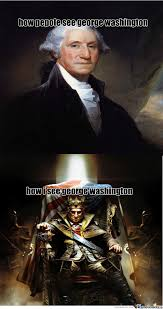 Washington Memes - george washington in diffrent eyes by recyclebin meme center