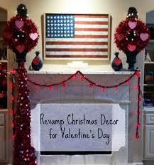 repurpose christmas decor for valentine u0027s day