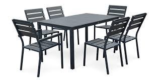 Table Et Chaises De Jardin Leroy Merlin by Meubles Salon De Jardin Table Et Chaise Mobilier De Jardin Leroy