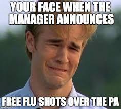 Flu Shot Meme - flu shot meme 28 images just got poked w a flu shot 4 in one