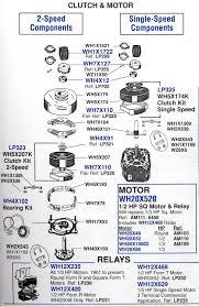 Ge Profile Cooktop Parts List Refrigerators Parts Appliance Repair Parts