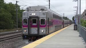 Commuter Rail by Amtrak U0026 Mbta Commuter Rail Hd 60fps Northeast Corridor Evening