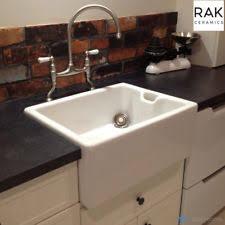 belfast sink kitchen rak ceramics gosink8 gourmet sink 8 belfast style with weir overflow
