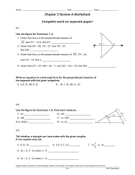 chapter 5 review a and review b worksheets
