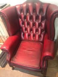 Red Chesterfield Sofa For Sale by Oxblood Chesterfield Sofas Second Hand Household Furniture Buy