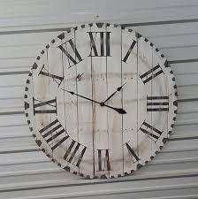 Wood Clock Amazon Com 36in