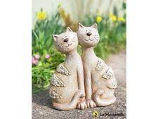 plastic resin cats garden statues lawn ornaments ebay
