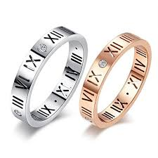 japanese wedding ring diamond lucky number numerals rings evermarker