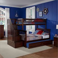 Twin Over Full Bunk Bed With Stairs Plans  Build A Twin Over Full - Twin over full bunk bed trundle