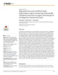 modification si e social association hunnic modified skulls physical pdf available